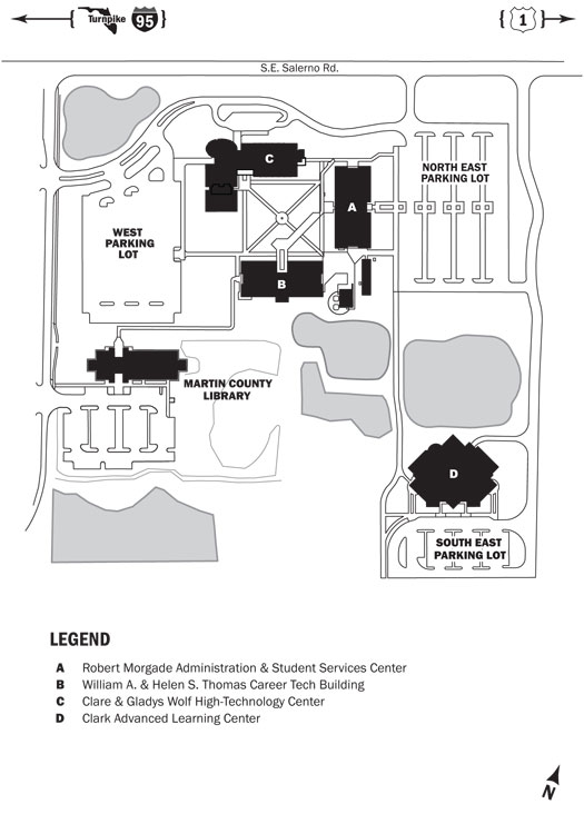 Polk State College Campus Map.Indian River State College Main Campus Map Www Sham Store